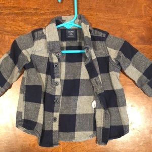 Other - Baby flannel top!